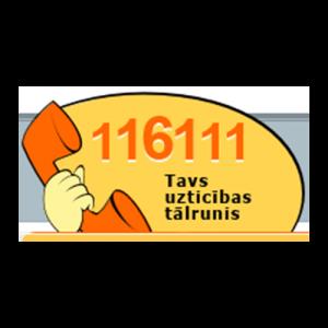 Uzticības tālrunis 116111 - #Neklusē sadarbības partneris