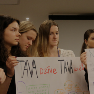 """""""Neklusē! Samazināsim mobingu Latvijas skolās. Pieredze un iespējas"""""""