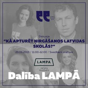 Diskusija LAMPĀ | Kā apturēt ņirgāšanos Latvijas skolās?