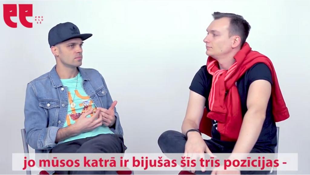 Double Faced Eels Reinis Straume un Mārtiņš Gailītis (Marka) #Neklusē